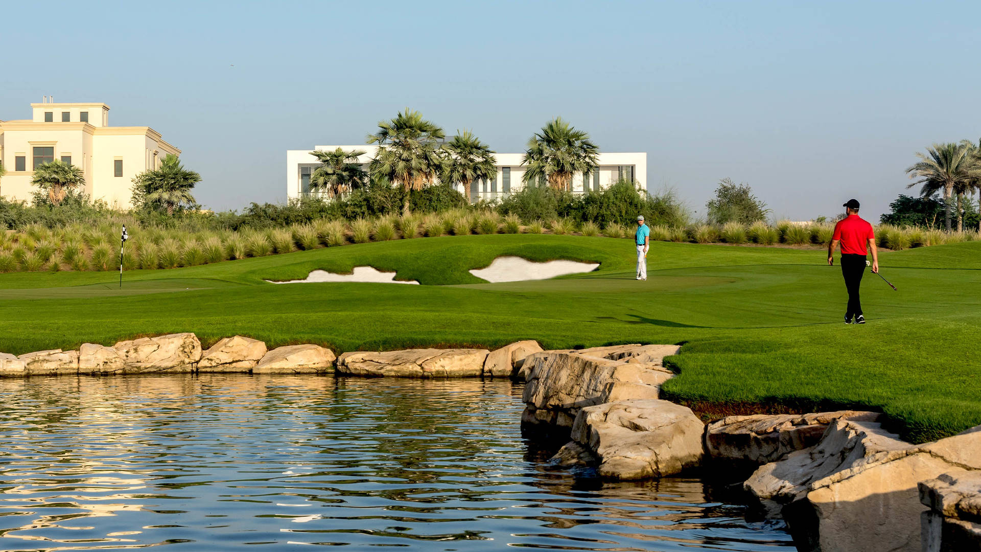 Dubai Hills Golf Course 16-9