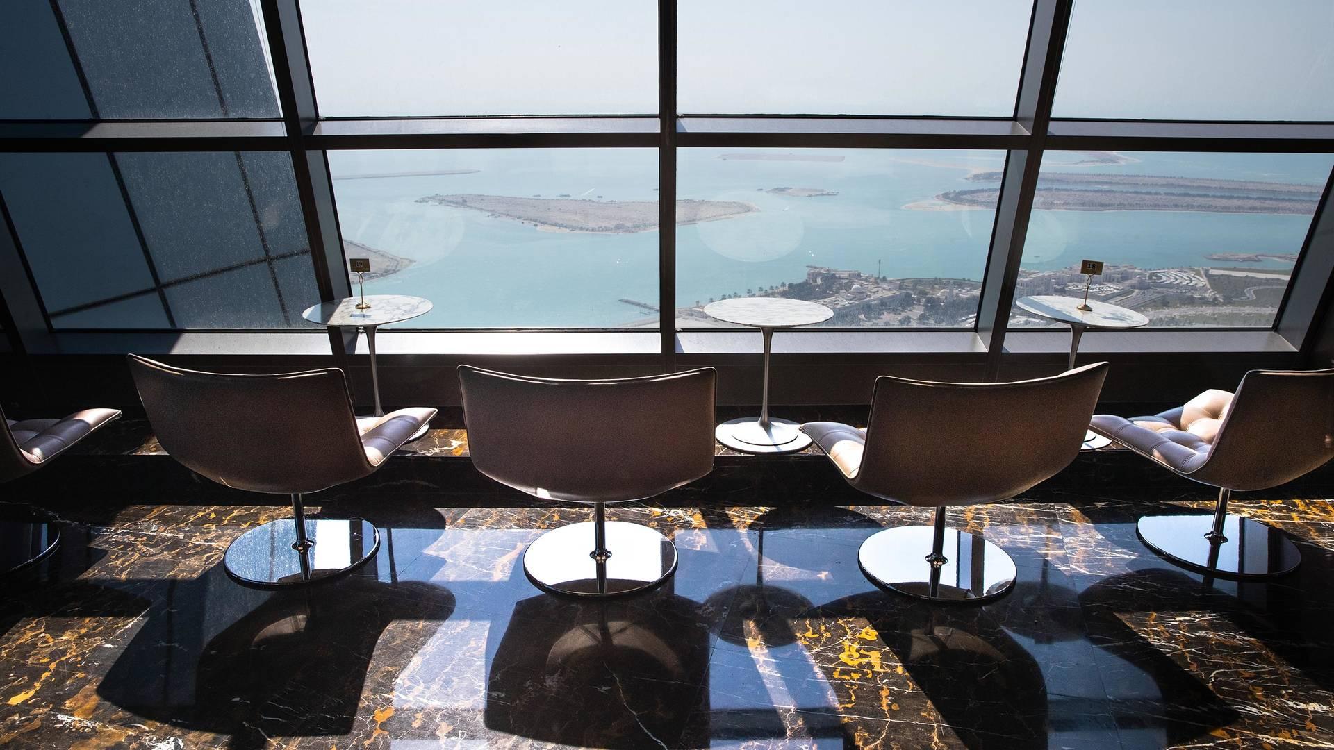 Observation deck at Jumeirah Etihad Towers