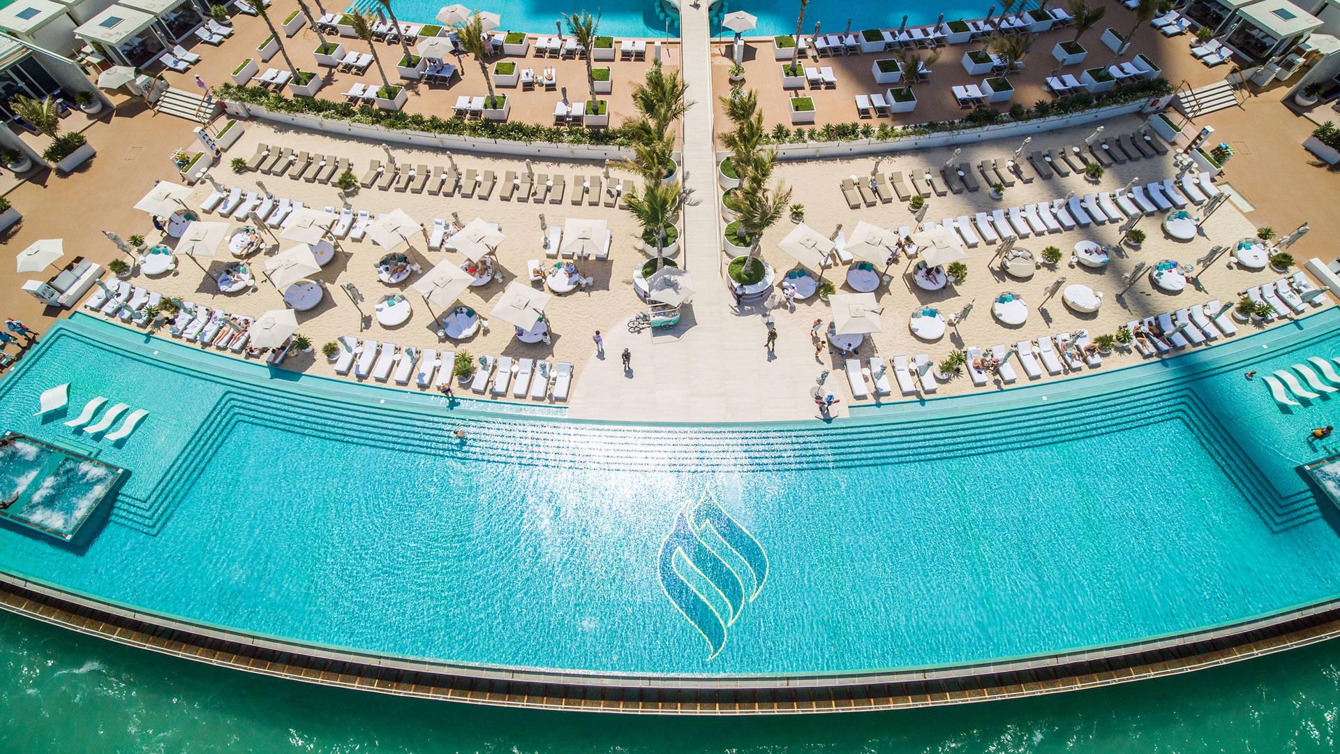 Burj Al Arab Jumeirah Terrace Drone
