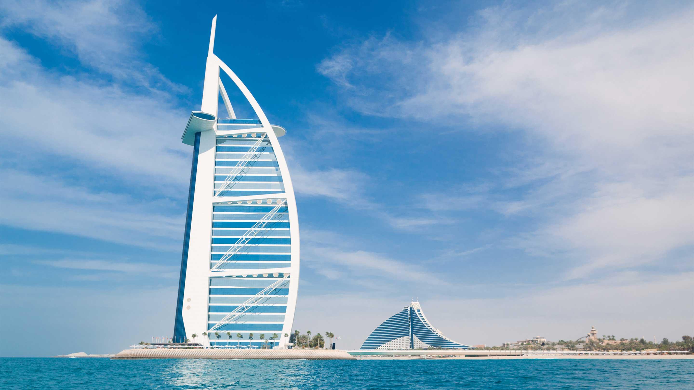 16-9 Photo Copy of Burj Al Arab Hotel in Dubai