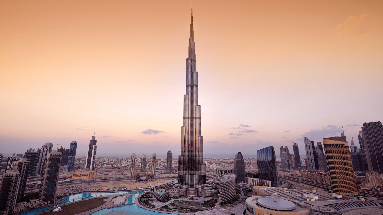 16-9 Photo Copy of Dubai city Khalifa