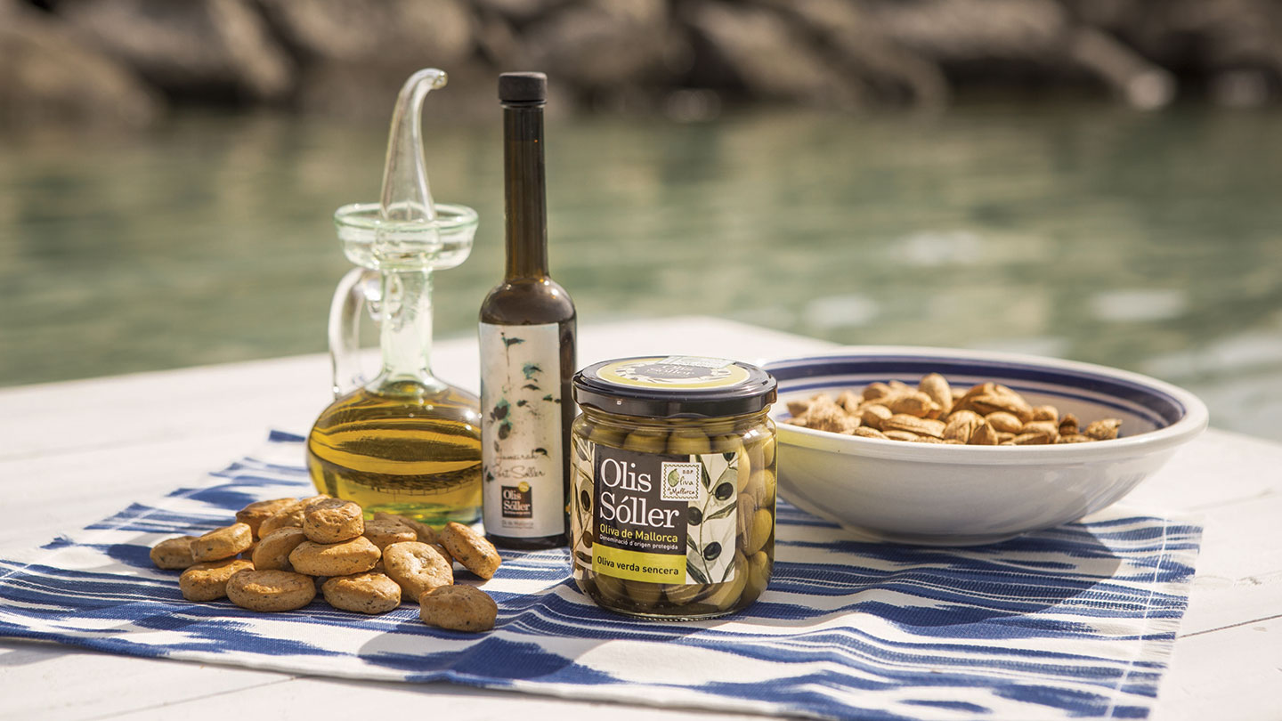 Olives and olive oil at Jumeirah Port Soller Hotel & Spa