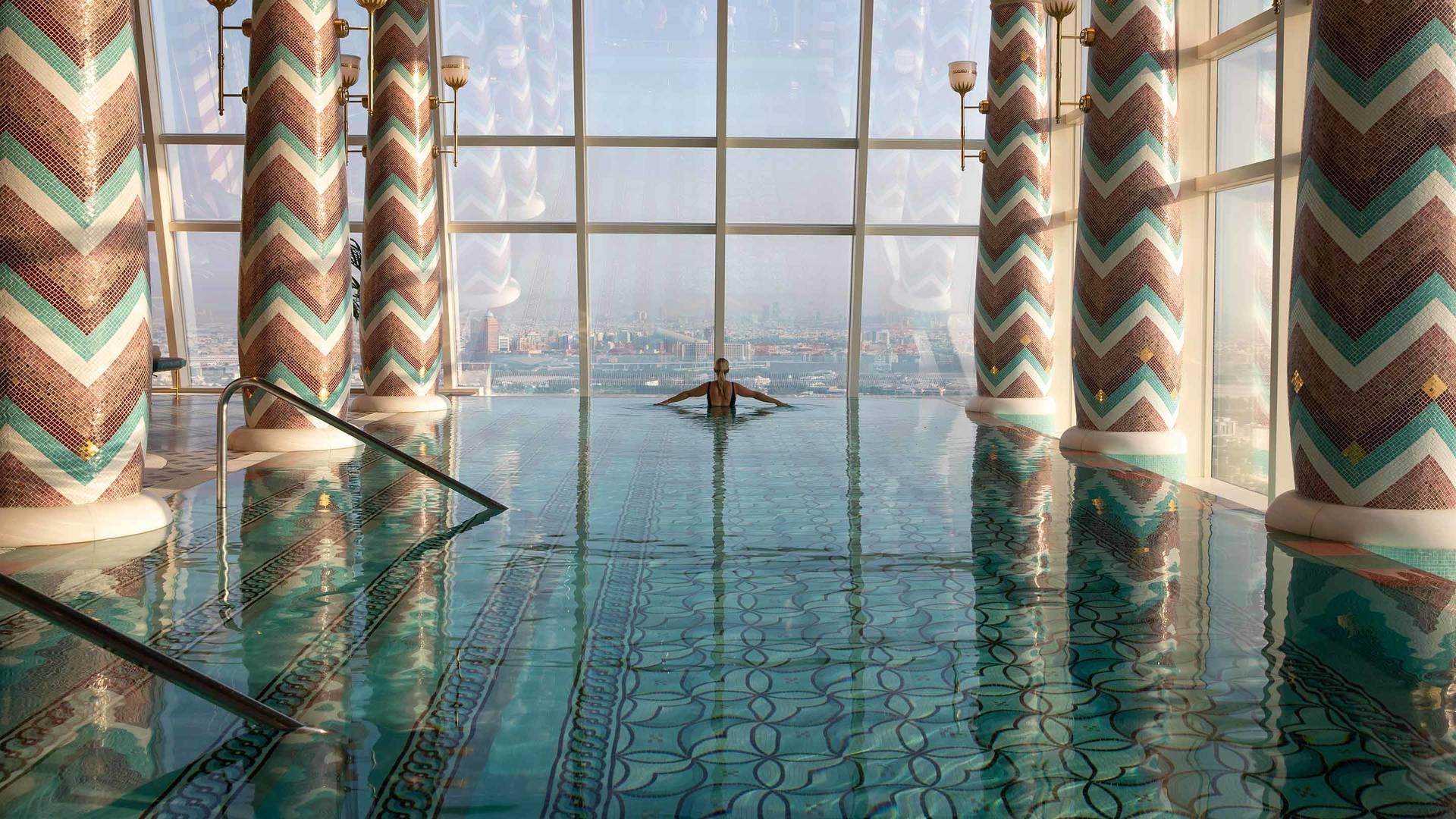 Jumeirah Bruj Al Arab Talise Spa pool3_6-4