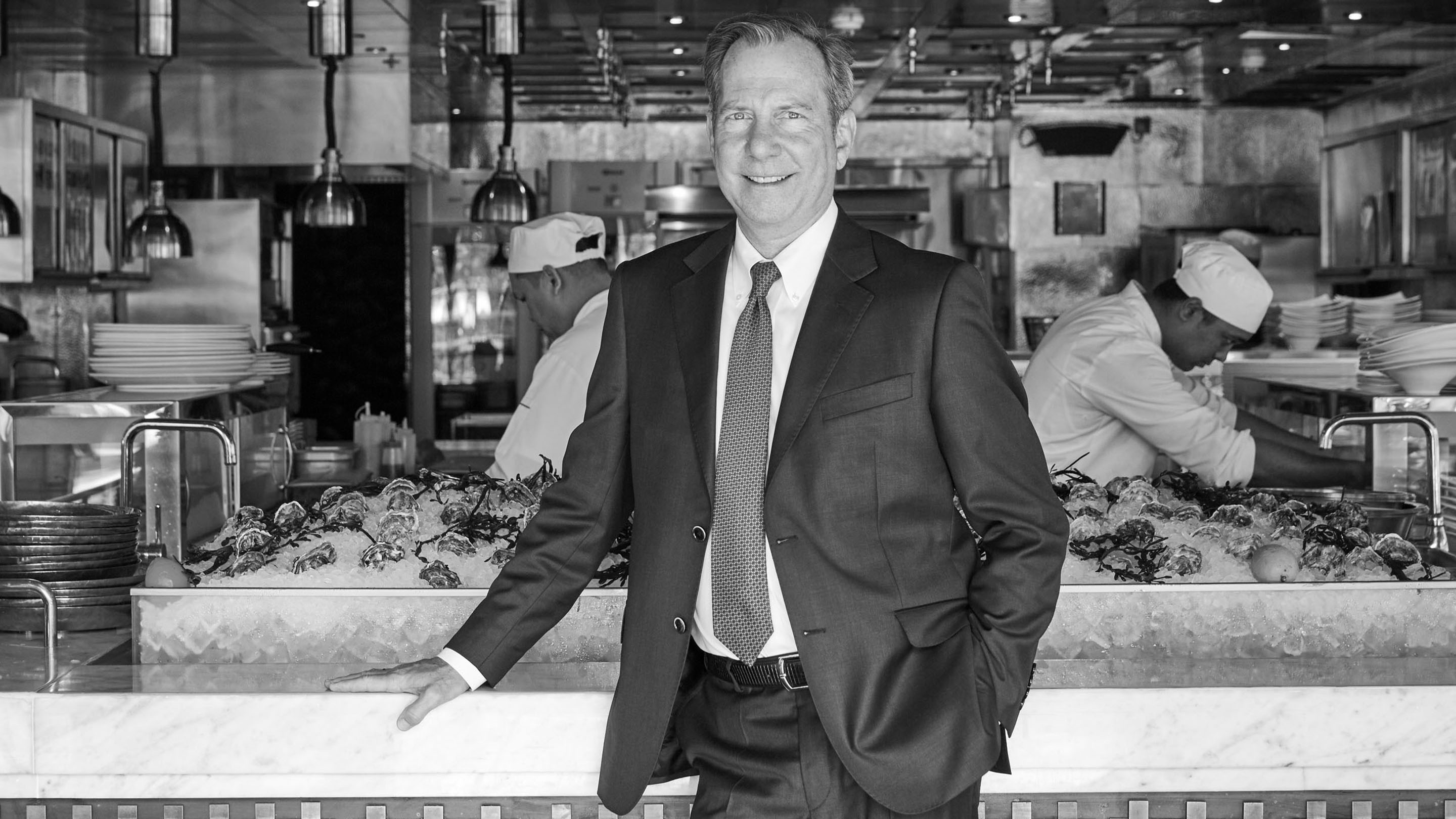Jumeirah Chief Culinary Officer Michael Ellis