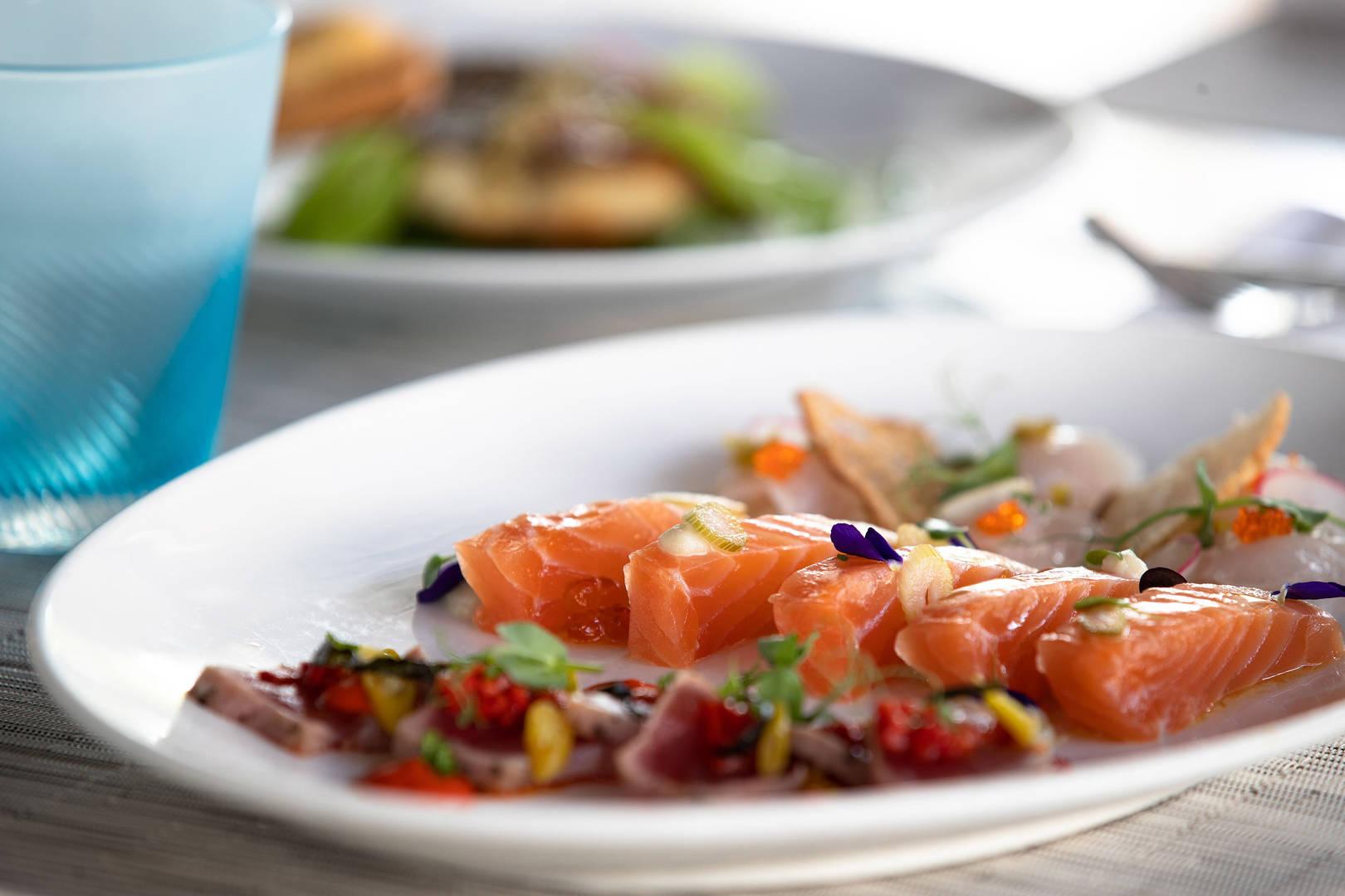 Summersalt-Raw-Fish-Selection at Jumeirah-Al-Naseem