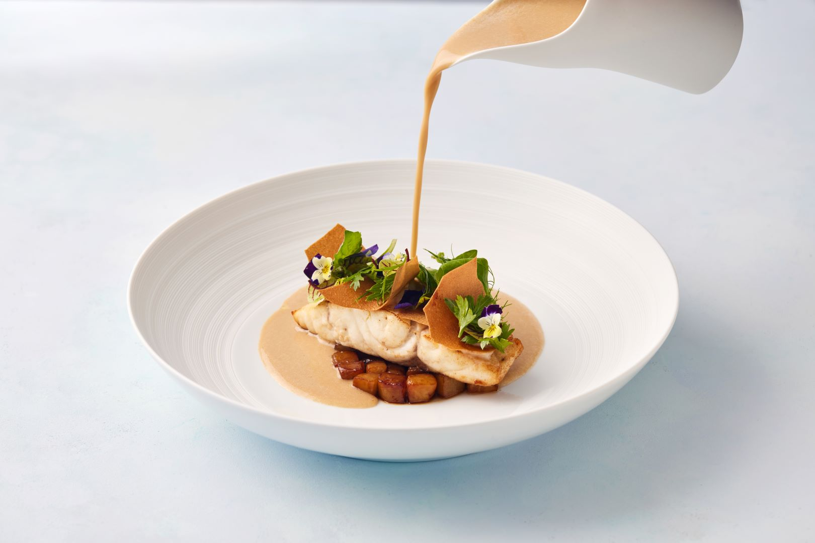 Dish at Mutaha Restaurant at Jumeirah Burj Al Arab