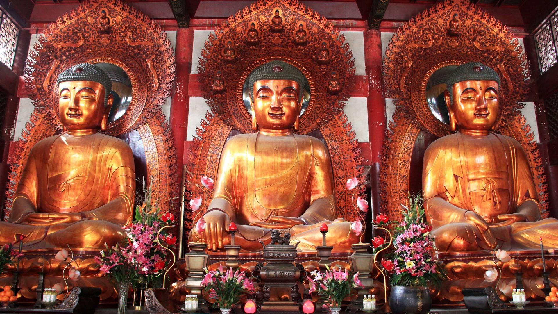 Sculpture of the Buddha in Guangzhou