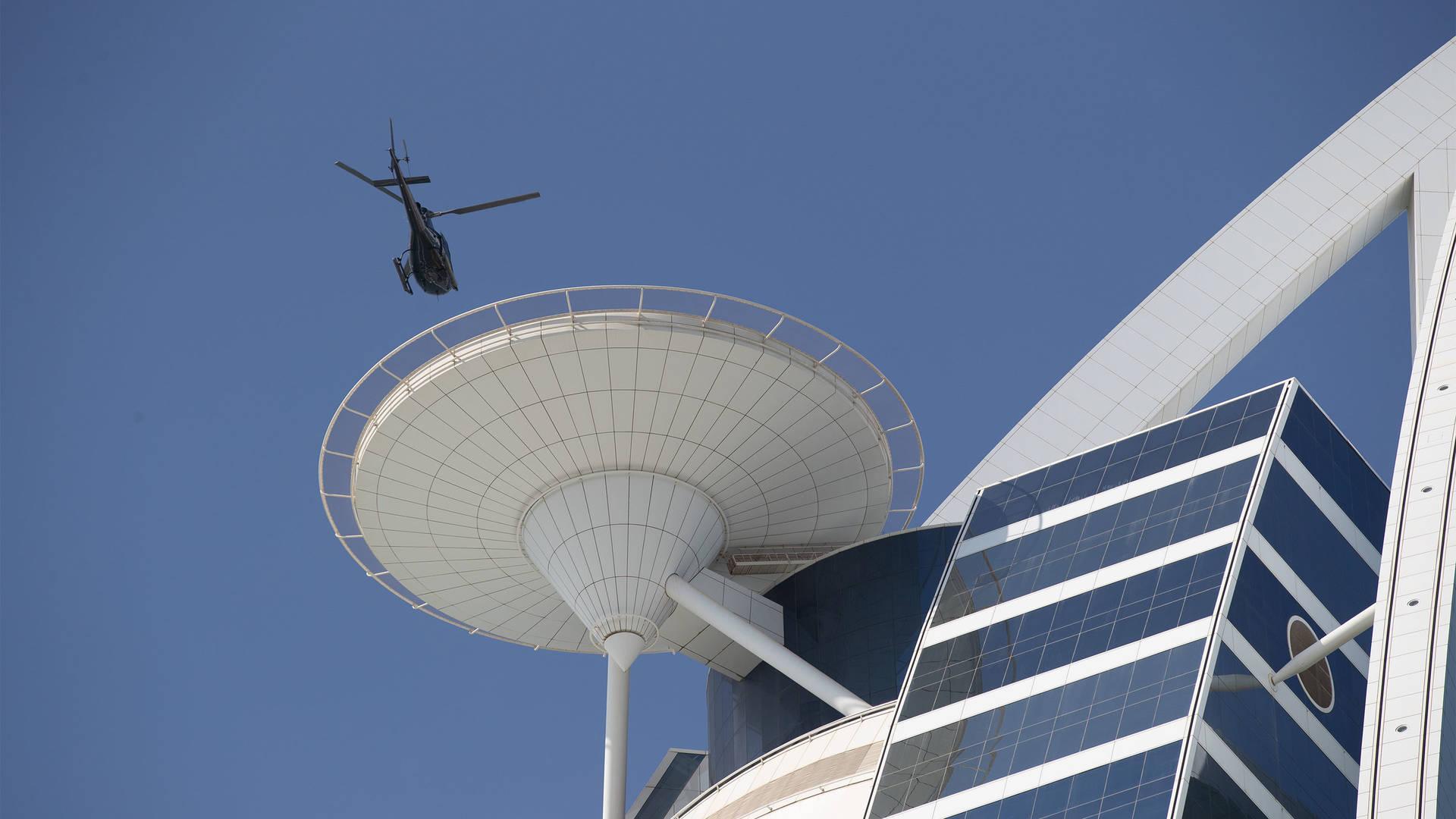 Jumeirah Beach Hotel Helipad
