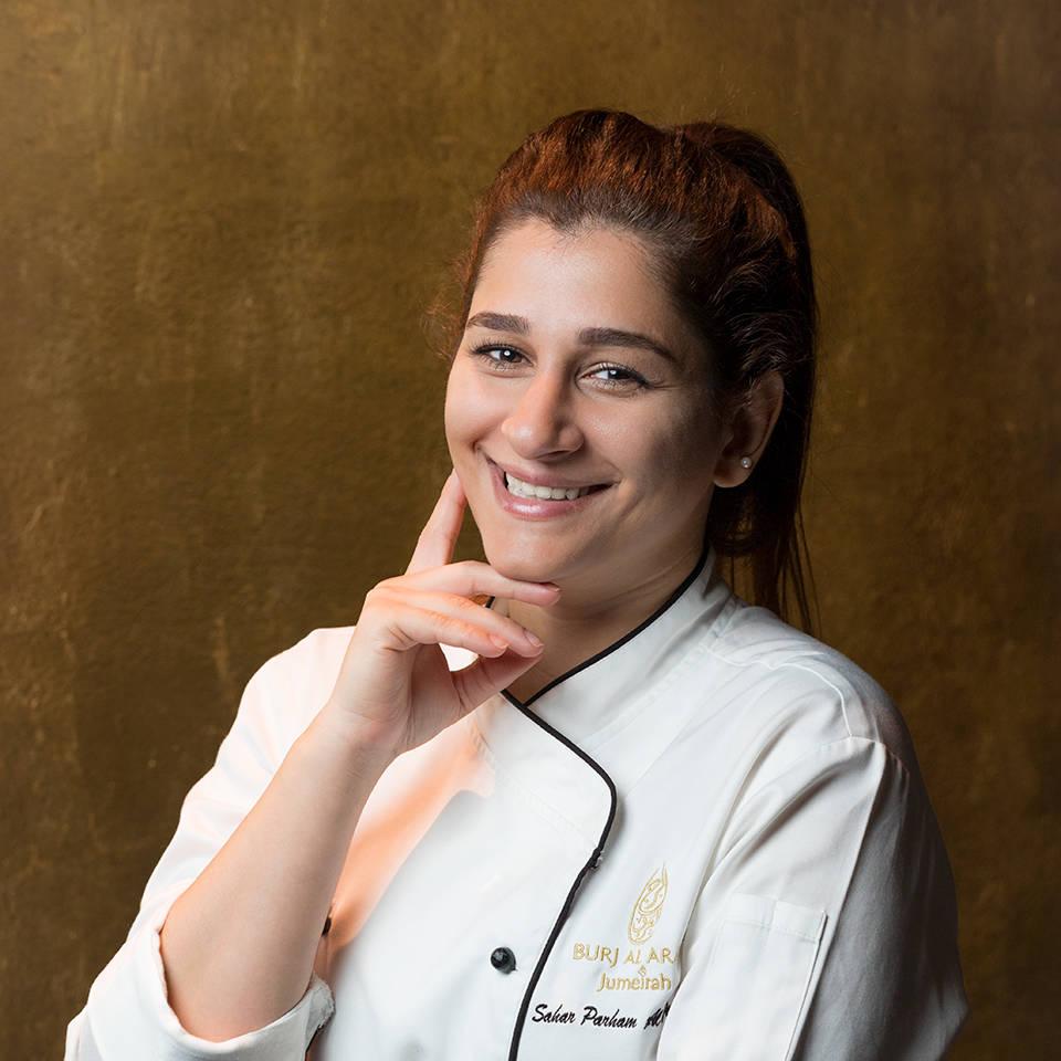Jumeirah Burj Al Arab Sahar Parham Jr Pastry Chef _1-1