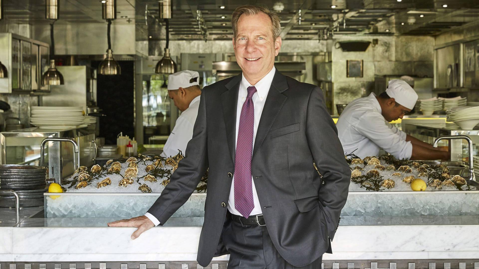 Chief Culinary Officer Michael-Ellis Murrindie