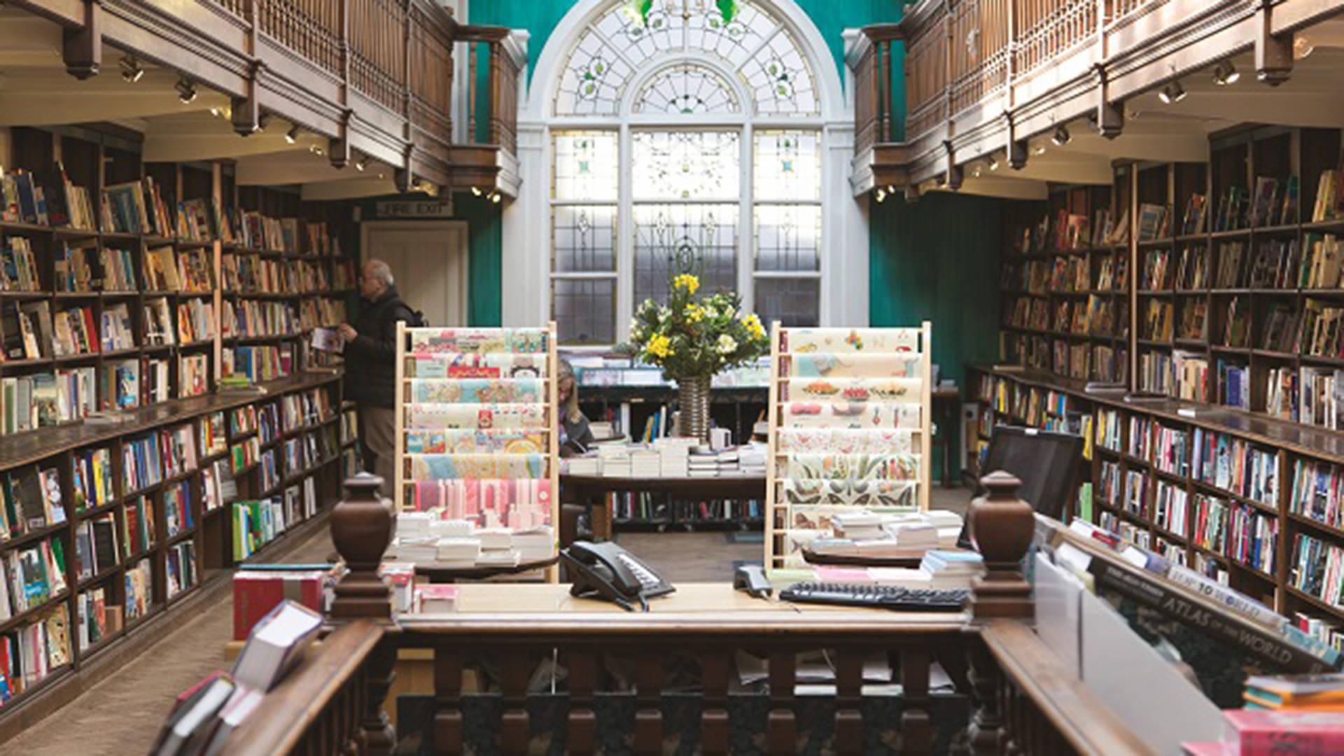Marylebone Library layout